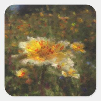 Native Flower Meadow Stickers