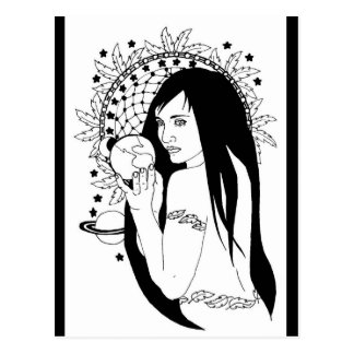 Native Gaia Connections Postcard