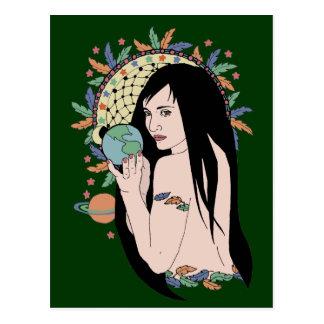 Native Gaia Postcard