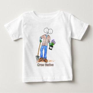 Native Gardening Guy Baby T-Shirt