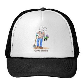 Native Gardening Guy Trucker Hats