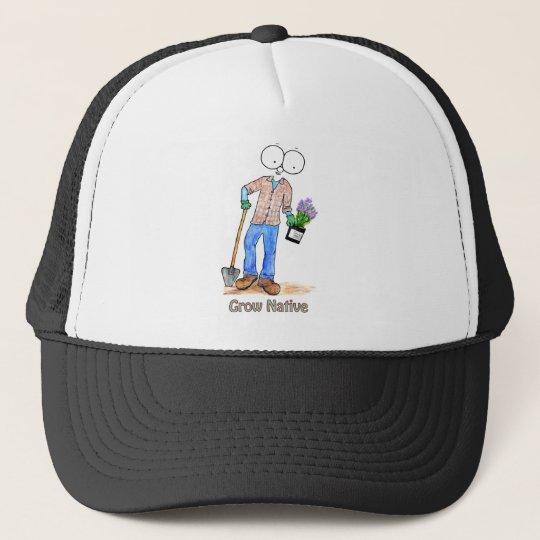 Native Gardening Guy Trucker Hat