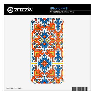 Native Geometric Pattern 1 Decals For iPhone 4