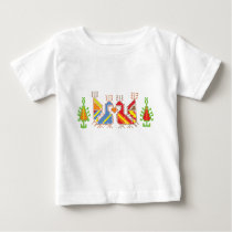 Native Geometric Pattern Baby Jersey T-Shirt