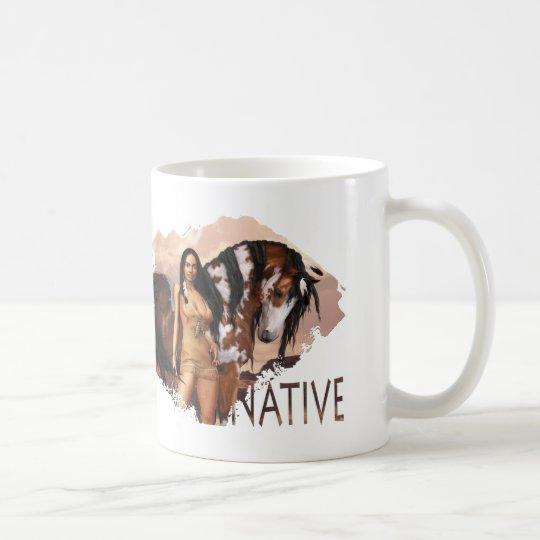 Native Girl Dakotah Mug