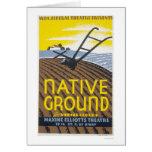 Native Ground Farmhouse 1936 WPA