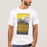 Native Ground Farmhouse 1936 WPA T-Shirt