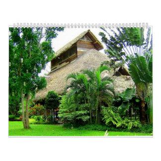 Native house Calendar