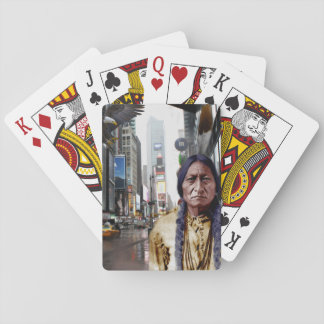 Native in New York Classic Playing Cards