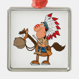 Native Indian American Christmas Ornaments