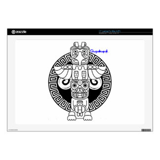 "NATIVE INDIAN TOTEM SPIRIT01 CUSTOMIZABLE PRODUCTS SKIN FOR 17"" LAPTOP"