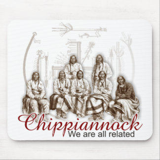 Native Indian We are all related Mousepad