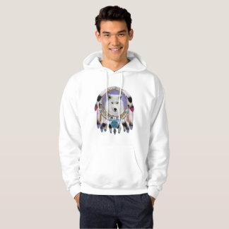 Native Indian Wolf Spirit Hoodie