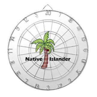 Native Islander Dart Board