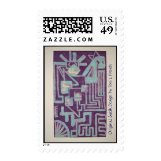 """Native Memory"" Stamp"