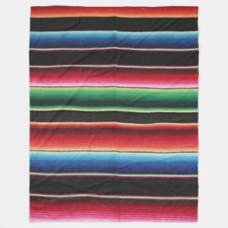 native mexican simulated fleece blankets