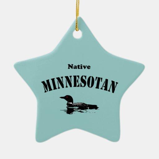 Native Minnesotan Ornament