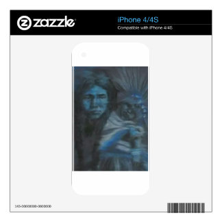 Native Mother & Child iPhone 4S Skin