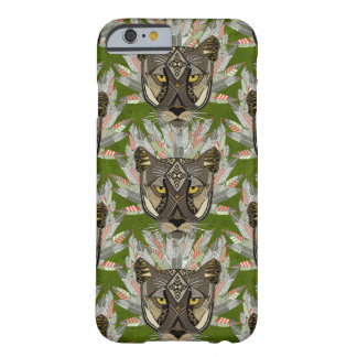 native mountain lion green barely there iPhone 6 case