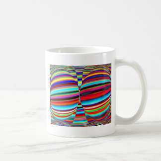 Native Mystic Temple Art - Color Mania Patterns Classic White Coffee Mug