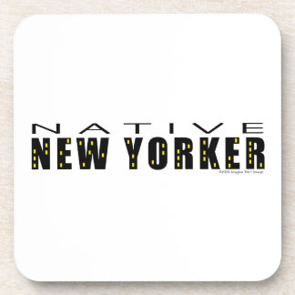 Native New Yorker Beverage Coaster