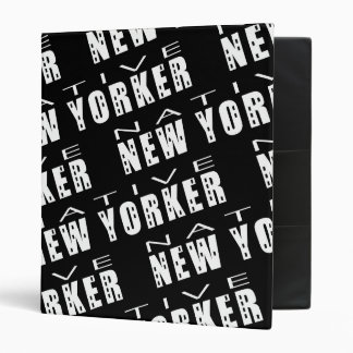 Native New Yorker Binders