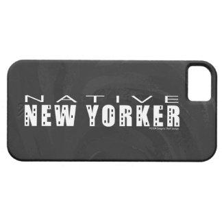 Native New Yorker black iPhone SE/5/5s Case