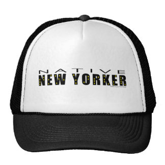 Native New Yorker black Trucker Hat