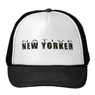 Native New Yorker black Trucker Hat
