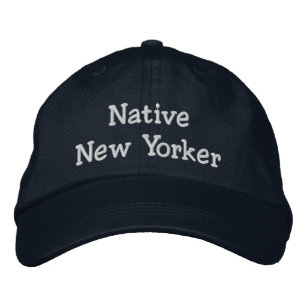 452aa5cffe5 Native New Yorker Embroidered Baseball Hat