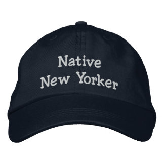 Native New Yorker Embroidered Baseball Hat