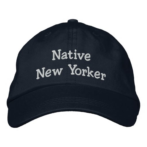Native New Yorker Embroidered Baseball Hat 40e6226dfe6