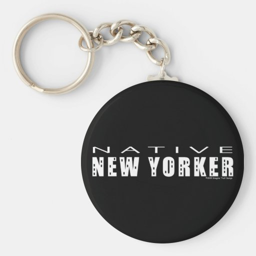 Native New Yorker Key Chain