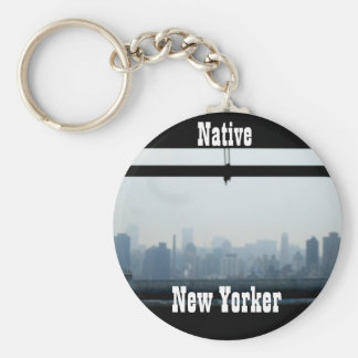 NATIVE NEW YORKER keychain