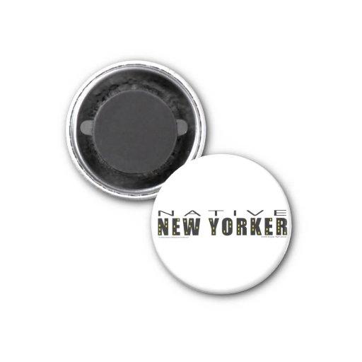 Native New Yorker Fridge Magnets