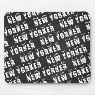 Native New Yorker Pattern Mouse Pad