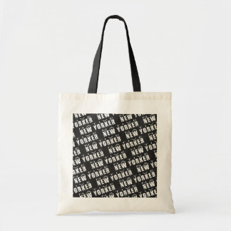Native New Yorker Pattern Tote Bag