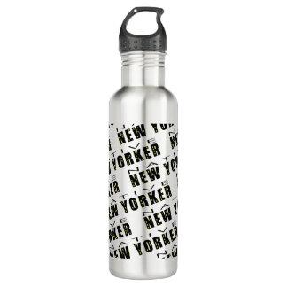 Native New Yorker Pattern Water Bottle