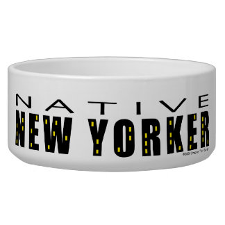 Native New Yorker Personal Pet Bowl
