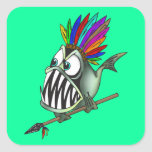 Native Piranha Stickers