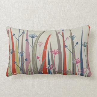 "Native Plant Throw Pillow (oblong, 13"" x 21"")"