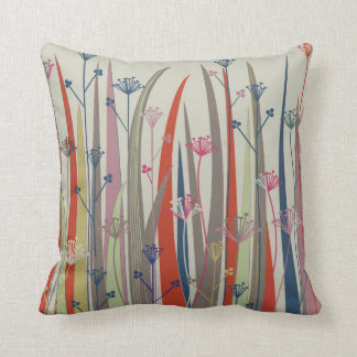 "Native Plant Throw Pillow (square, 20""x20"")"