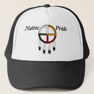 Native Pride/Medicine Wheel Trucker Hat