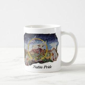 Native Pride Skull Mountain Classic White Coffee Mug