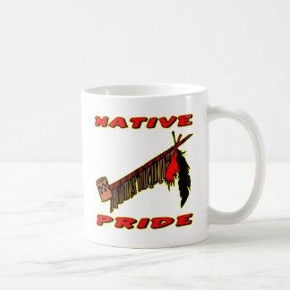 Native Pride Tobacco Peace Pipe Classic White Coffee Mug