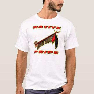 Native Pride Tobacco Peace Pipe T-Shirt