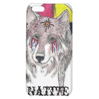 Native Pride wolf iPhone 5C Case