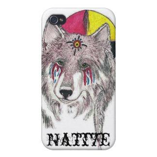 Native Pride wolf iPhone 4 Case