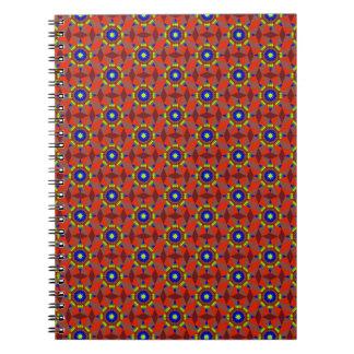 Native Red Diamonds Notebook