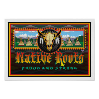 Native Roots Poster